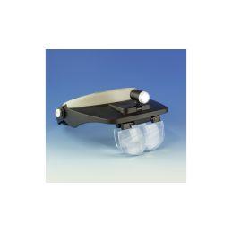 Lightcraft čelenka s lupou a LED osvětlením (set) - 1