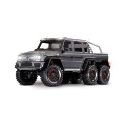 Traxxas TRX-6 Mercedes G 63 6x6 1:10 TQi RTR tmavě šedá metalíza - 1