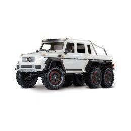 Traxxas TRX-6 Mercedes G 63 6x6 1:10 TQi RTR bílý - 1
