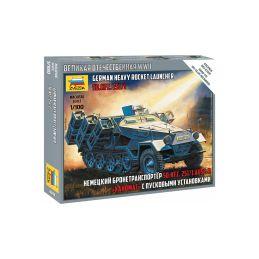 Zvezda Snap Kit - Sd.Kfz.251/1 Ausf.B (1:100) - 1
