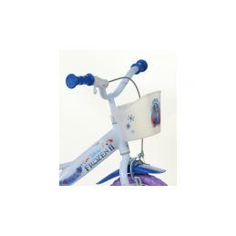 """DINO Bikes - Dětské kolo 12"""" Frozen 2 se sedačkou pro panenku a košíkem - 4"""