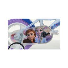 """DINO Bikes - Dětské kolo 12"""" Frozen 2 se sedačkou pro panenku a košíkem - 5"""