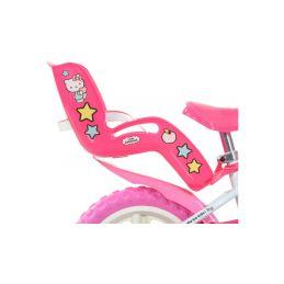 """DINO Bikes - Dětské kolo 12"""" Hello Kitty2 se sedačkou - 3"""