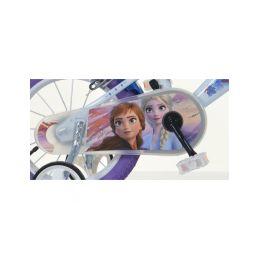 """DINO Bikes - Dětské kolo 14"""" Frozen 2 se sedačkou pro panenku a košíkem - 4"""