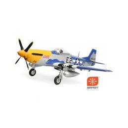 E-flite P-51D Mustang 1.5m BNF Basic - 1