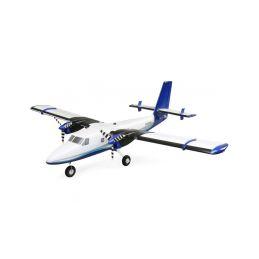 E-flite Twin Otter 1.2m SAFE Select BNF Basic, plováky - 1