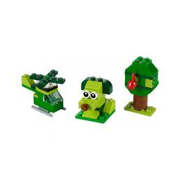LEGO Classic - Zelené kreativní kostičky - 1