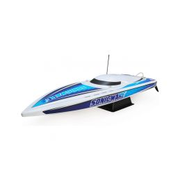 "Proboat Sonicwake 36"" Self-Right Deep-V BL RTR bílý - 1"