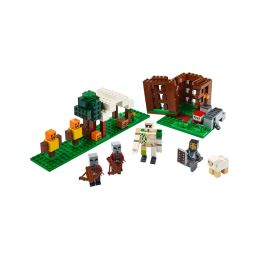 LEGO Minecraft - Základna Pillagerů - 1