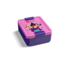 LEGO box na svačinu 170x135x69mm - Friends Girls Rock - 1
