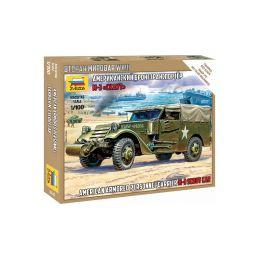 Zvezda Snap Kit - M3 Scout Car (1:100) - 1
