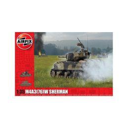 Airfix M4A3(76)W Sherman (1:35) - 1