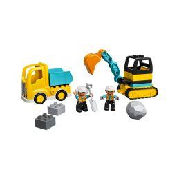 LEGO DUPLO - Náklaďák a pásový bagr - 1