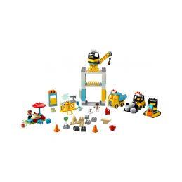 LEGO DUPLO - Stavba s věžovým jeřábem - 1