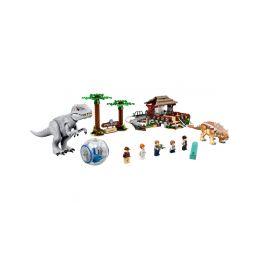 LEGO Jurský Park - Indominus rex vs. ankylosaurus - 1