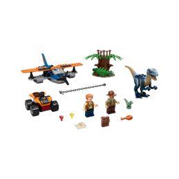 LEGO Jurský Park - Velociraptor: Záchranná mise s dvouplošníkem - 1