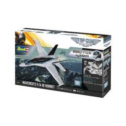 Revell EasyClick Maverick's F/A-18 Hornet Top Gun (1:72) (sada) - 2