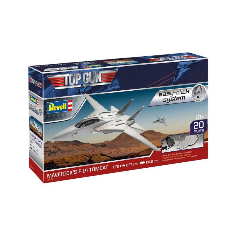 Revell EasyClick Maverick's F-14 Tomcat Top Gun (1:72) (sada) - 1
