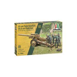 Italeri 15 cm Field Howitzer / 10,5 cm Field Gun (1:72) - 1