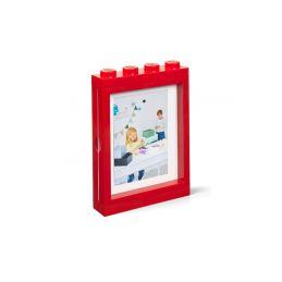 LEGO fotorámeček červený - 1