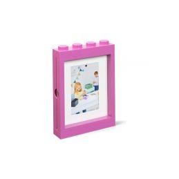 LEGO fotorámeček růžový - 1