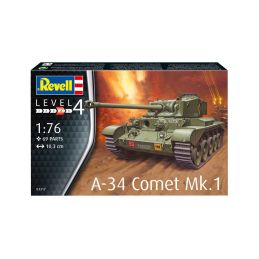Revell Comet A-34 Mk.1 (1:76) - 3