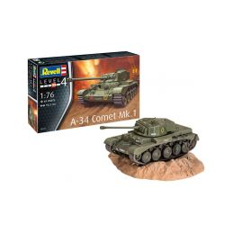 Revell Comet A-34 Mk.1 (1:76) - 4