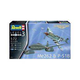 Revell Messerschmitt Me 262, P-51B Mustang(1:72) - 3