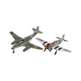 Revell Messerschmitt Me 262, P-51B Mustang(1:72) - 8