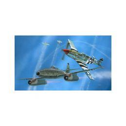 Revell Messerschmitt Me 262, P-51B Mustang(1:72) - 9