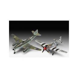 Revell Messerschmitt Me 262, P-51B Mustang(1:72) - 10