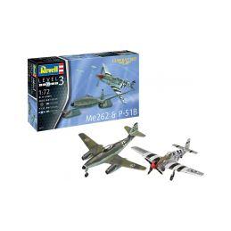 Revell Messerschmitt Me 262, P-51B Mustang(1:72) - 15