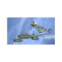 Revell Messerschmitt Me 262, P-51B Mustang(1:72) - 16