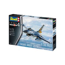 Revell Lockheed Martin F-16 MLU Tiger Meet 2018 (1:72) - 2