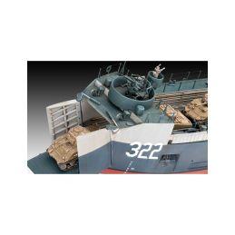 Revell US Navy Landing Ship Medium (Bofors 40 mm gun) (1:144) - 4
