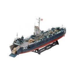 Revell US Navy Landing Ship Medium (Bofors 40 mm gun) (1:144) - 7