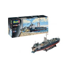 Revell US Navy Landing Ship Medium (Bofors 40 mm gun) (1:144) - 9