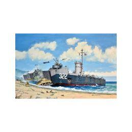 Revell US Navy Landing Ship Medium (Bofors 40 mm gun) (1:144) - 10