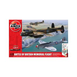 Airfix Bitva o Británii Memorial Flight (1:72) (giftset) - 1