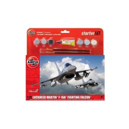 Airfix General Dynamics F-16A/B Fighting Falcon (1:72) (sada) - 1