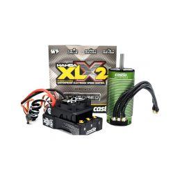 Castle motor 2028 800ot/V Senzored, reg. Mamba XLX 2 - 1