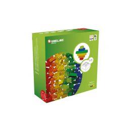 HUBELINO Kuličková dráha - barevné kostky 120 dílků - 1