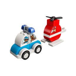 LEGO DUPLO - Hasičský vrtulník a policejní auto - 1