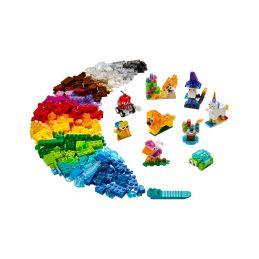 LEGO Classic - Průhledné kreativní kostky - 1