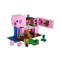 LEGO Minecraft - Prasečí dům - 1