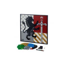 LEGO ART - Harry Potter Erby bradavických kolejí - 1