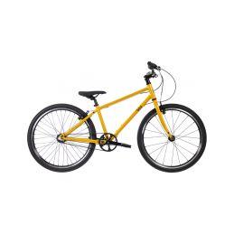 """Bungi Bungi - Dětské kolo 24"""" 3-rychlostní ultra lehké žluté - 1"""