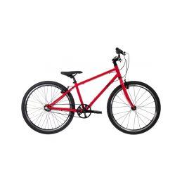 """Bungi Bungi - Dětské kolo 24"""" 3-rychlostní ultra lehké červené - 1"""