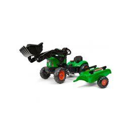 FALK - Šlapací traktor Supercharger s vlečkou - 1