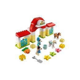 LEGO DUPLO - Koňská stáj a poník - 1